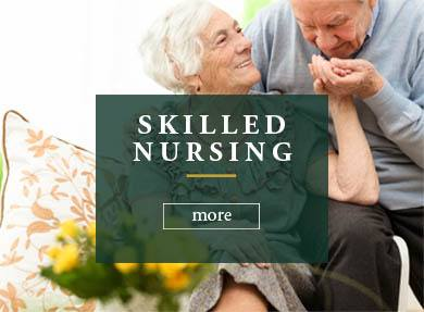 Skilled nursing services at Rambling Oaks Courtyard Extensive Care Community in Highland Village