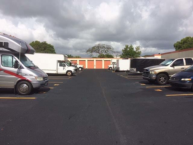 Parking at Top Self Storage - North Lauderdale