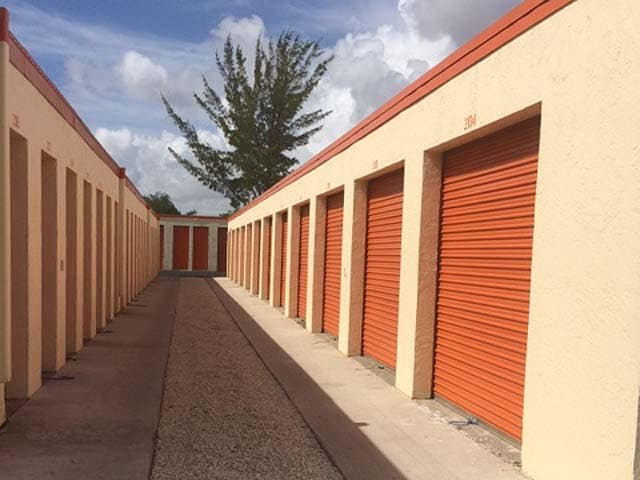 Different Size Units at the Self Storage in Tamarac