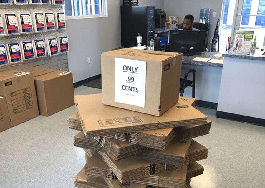 99 Cent boxes