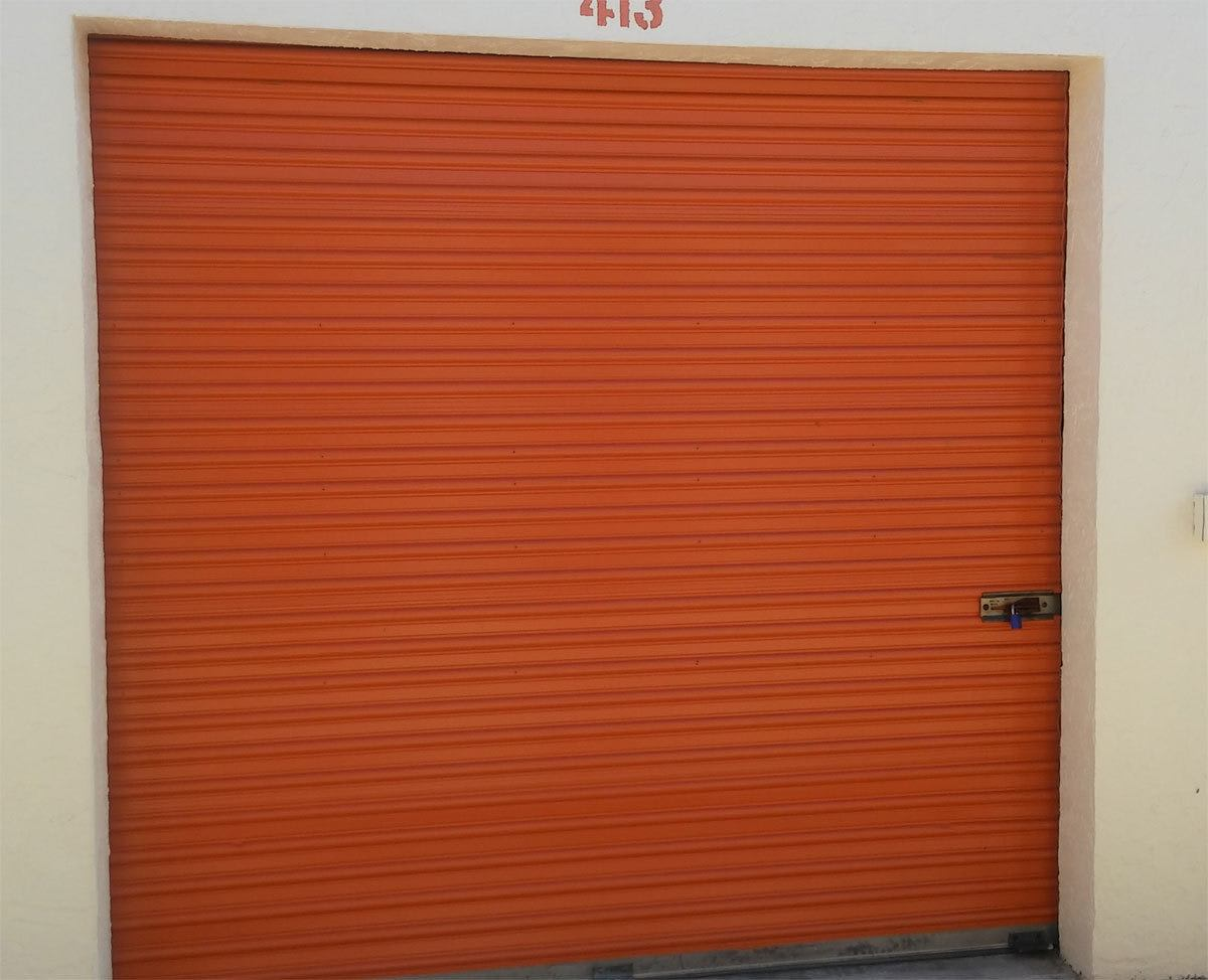 Top Self Storage unit door