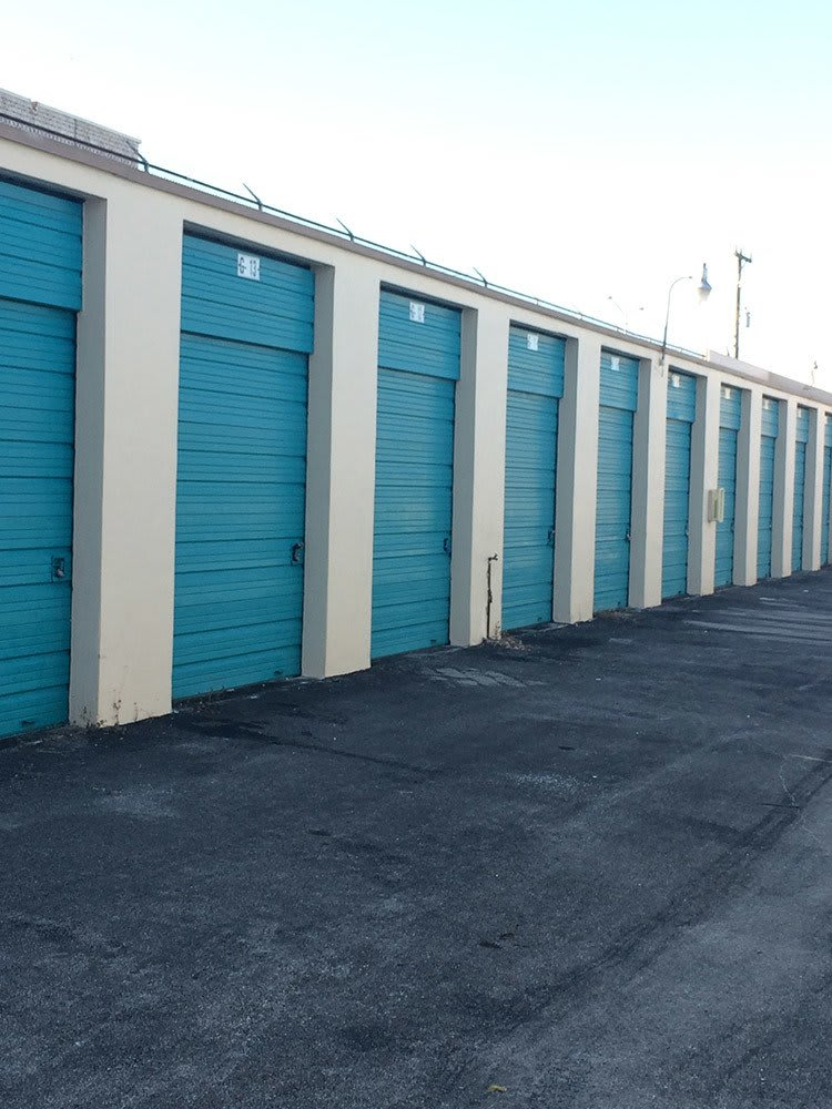 Storage unit doors at Top Self Storage - 167th St