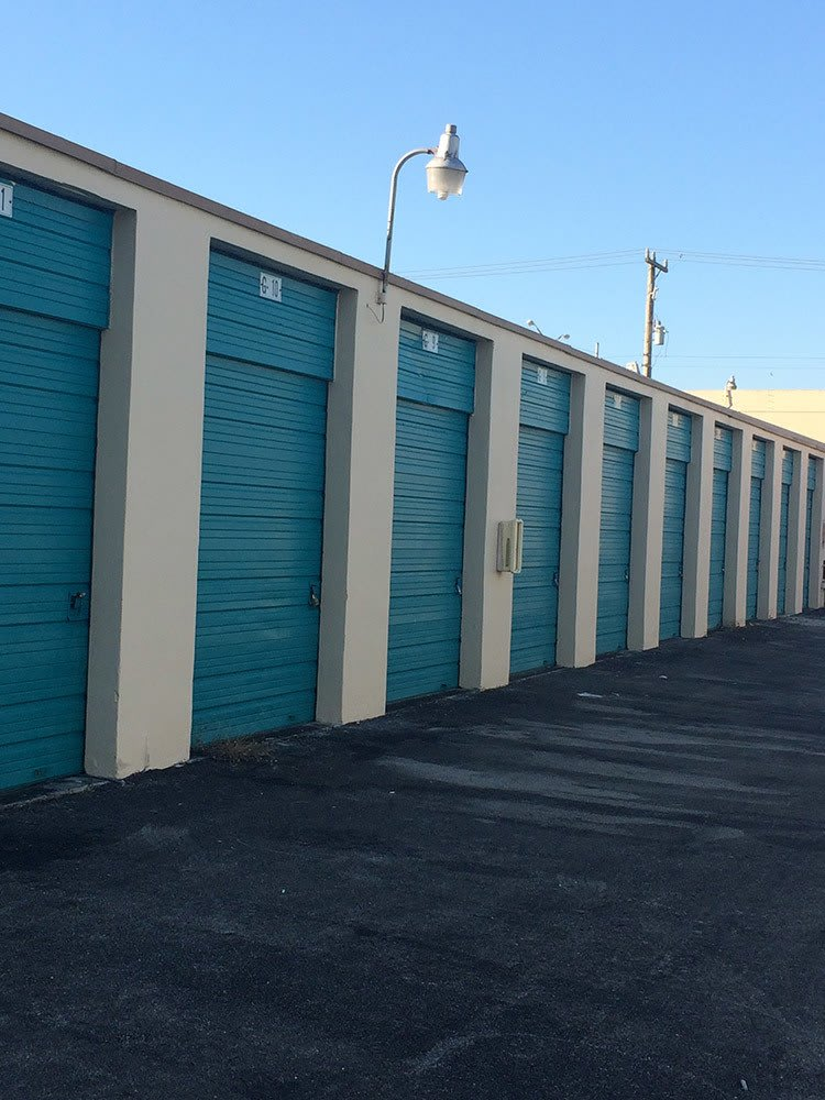 More Storage unit doors at Top Self Storage - 167th St