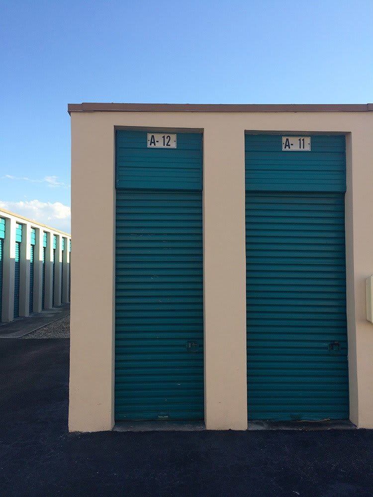End unit doors at Top Self Storage - 167th St