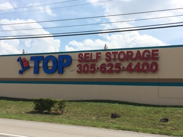 Top Self Storage Sign