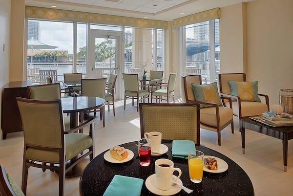 Breakfast nook  at Symphony at the Waterways