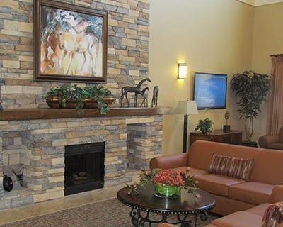 Comfortable couches to enjoy at the senior living community in Ocala, FL