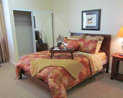 Feel at home with spacious bedrooms at senior living in Ocala, FL