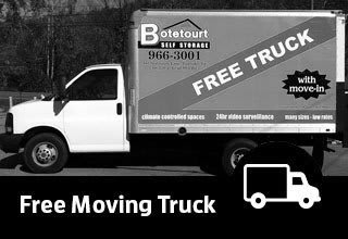 Free Moving Truck at Botetourt Self Storage