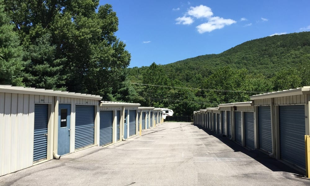 Our storage units in Roanoke, VA.