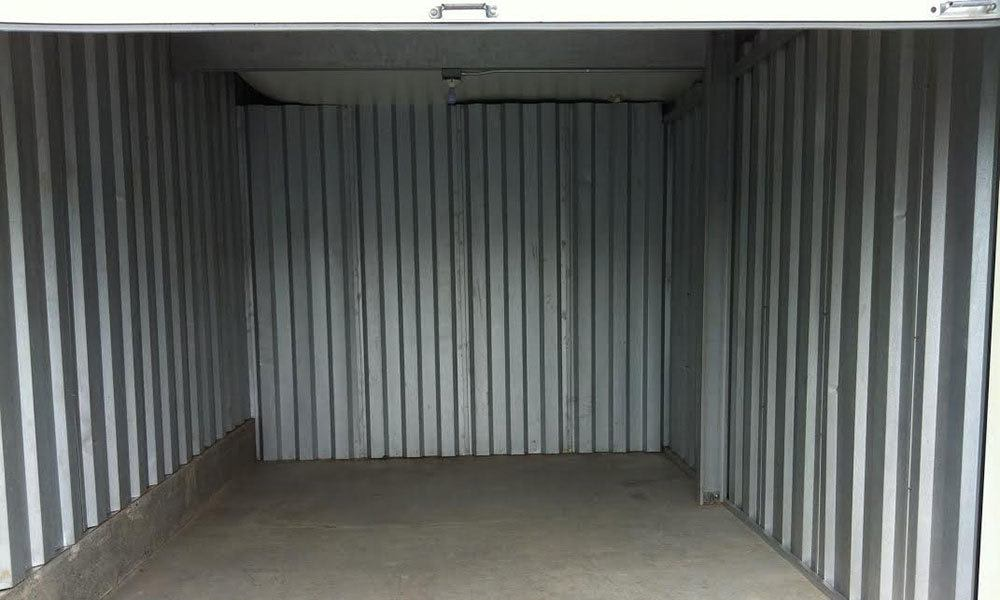 Clean inside climate controlled storage units with drive up access in Roanoke, VA.