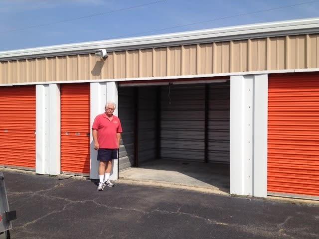 Check it out, a storage unit in Virginia Beach, VA
