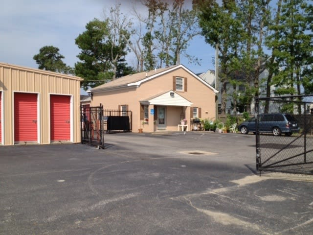 Exterior to our self storage facility in Virginia