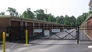 Gate for Victory Self Storage in Yorktown, Virginia