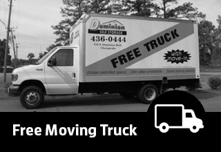 Free Moving Truck offered by Virginia Self Storage