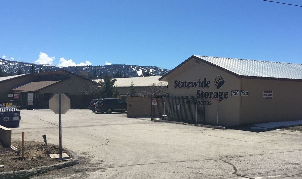Self storage in Big Bear, CA front