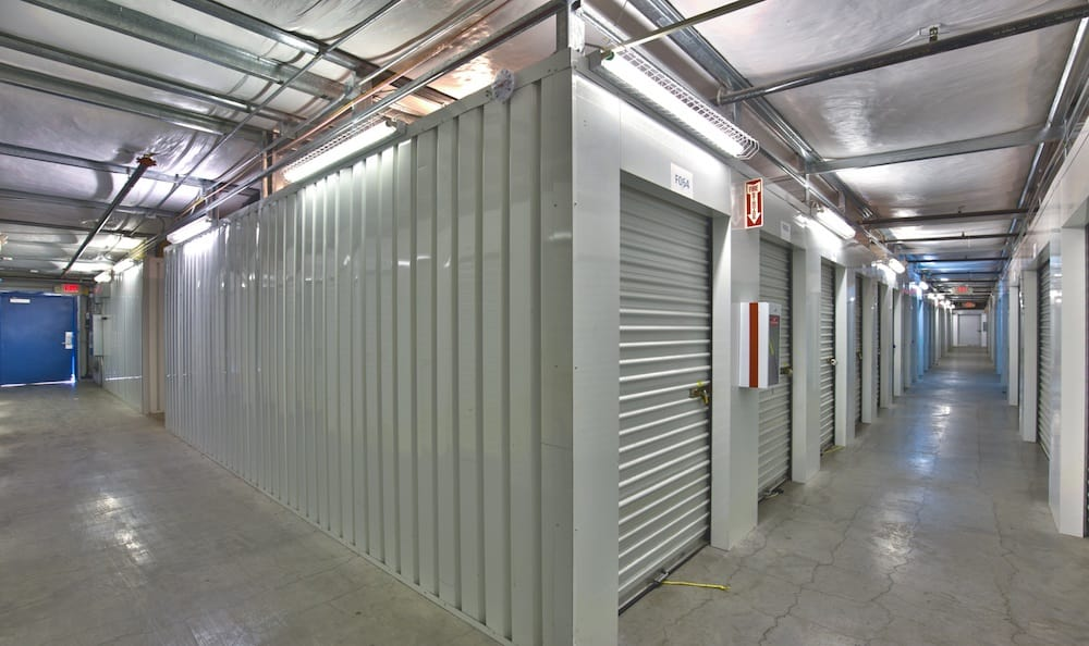 Indoor units and security features at Best Storage in Henderson