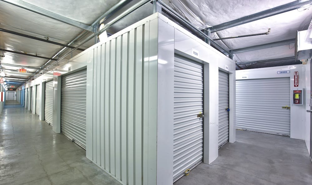 Indoor units at Best Storage in Henderson