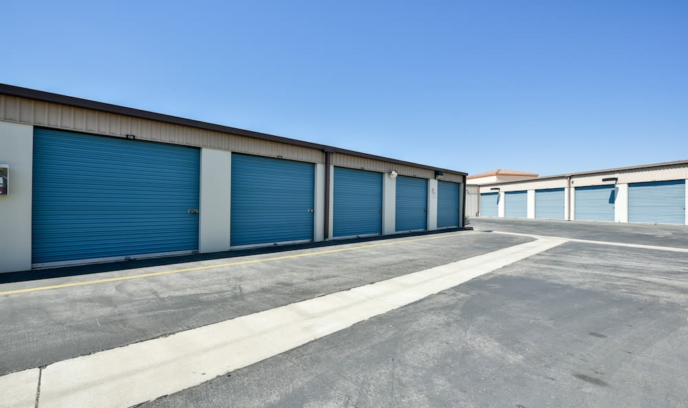 Driveway And Storage Units At Our Camarillo Location Facility