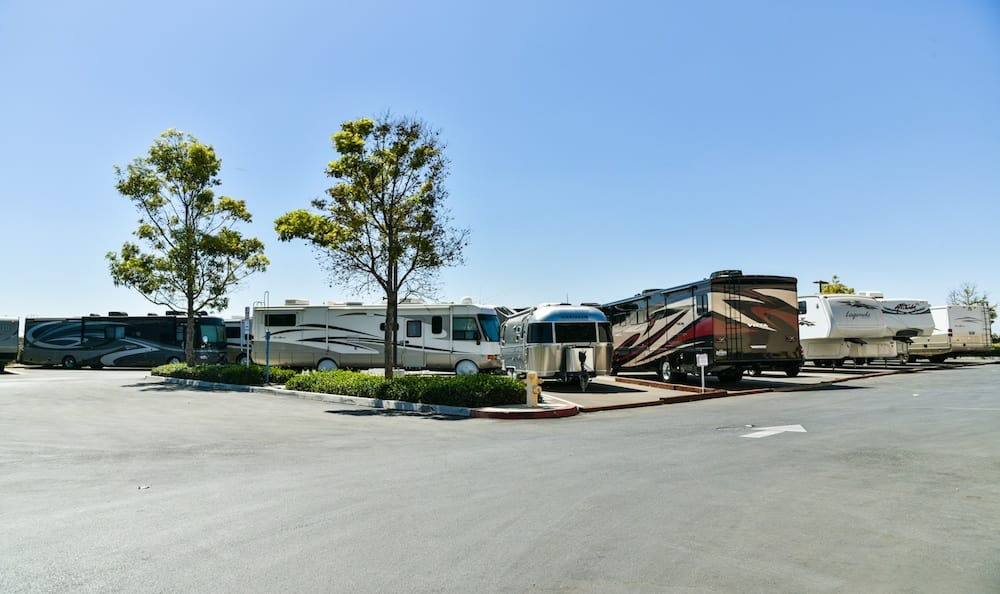 RV and Boat storage at our Camarillo location storage facility