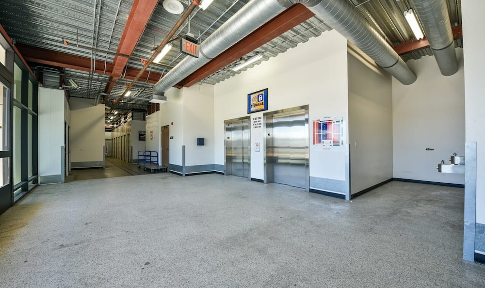 elevators at our Camarillo location storage facility