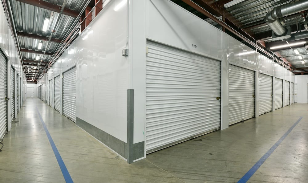 indoor units at our Camarillo location storage facility