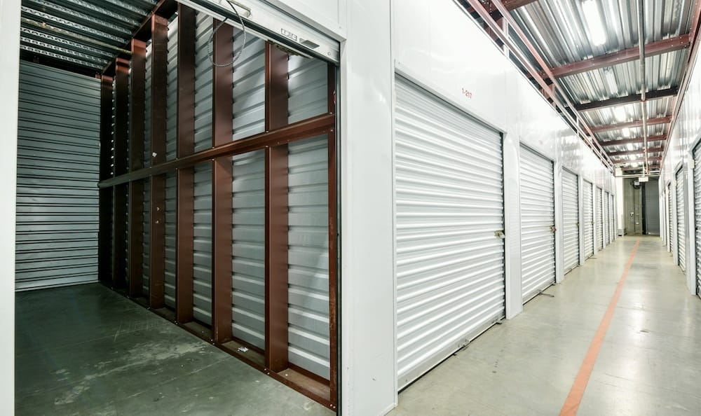indoor unit with door open at our Camarillo location storage facility