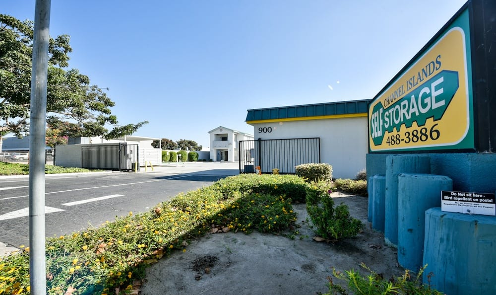 Gates, Security features and storage units at Channel Islands Self Storage in Port Hueneme, CA