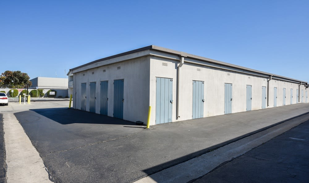 Drive up units at Channel Islands Self Storage in Port Hueneme, CA