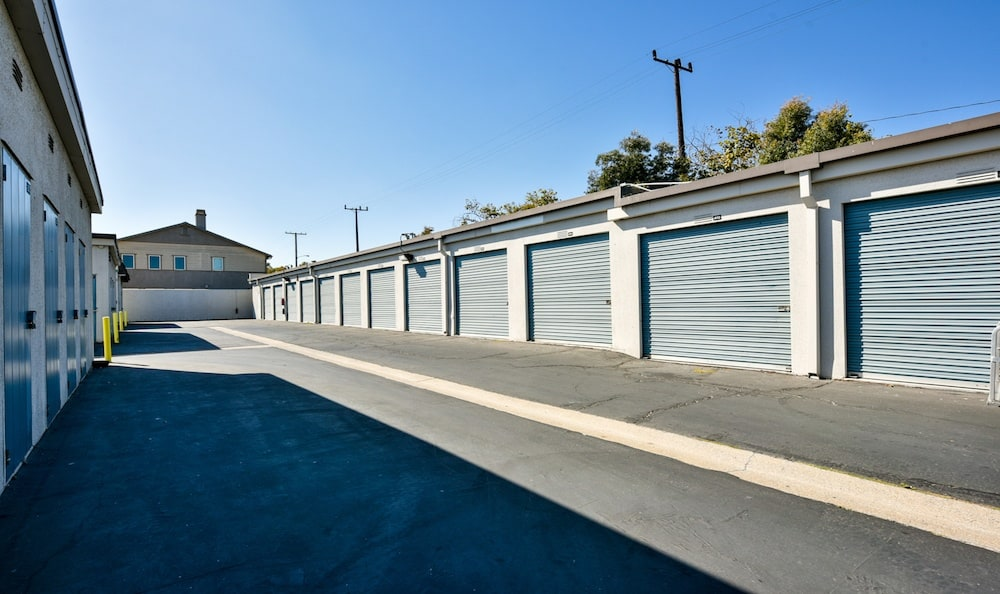 Easily accessible units at Channel Islands Self Storage in Port Hueneme, CA
