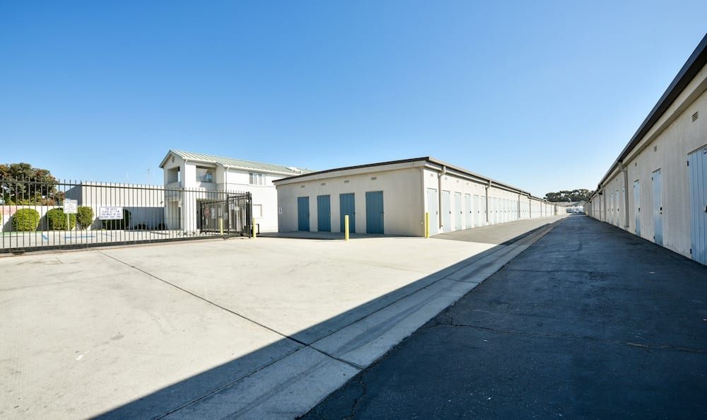 Drive up units and security features at Channel Islands Self Storage in Port Hueneme, CA