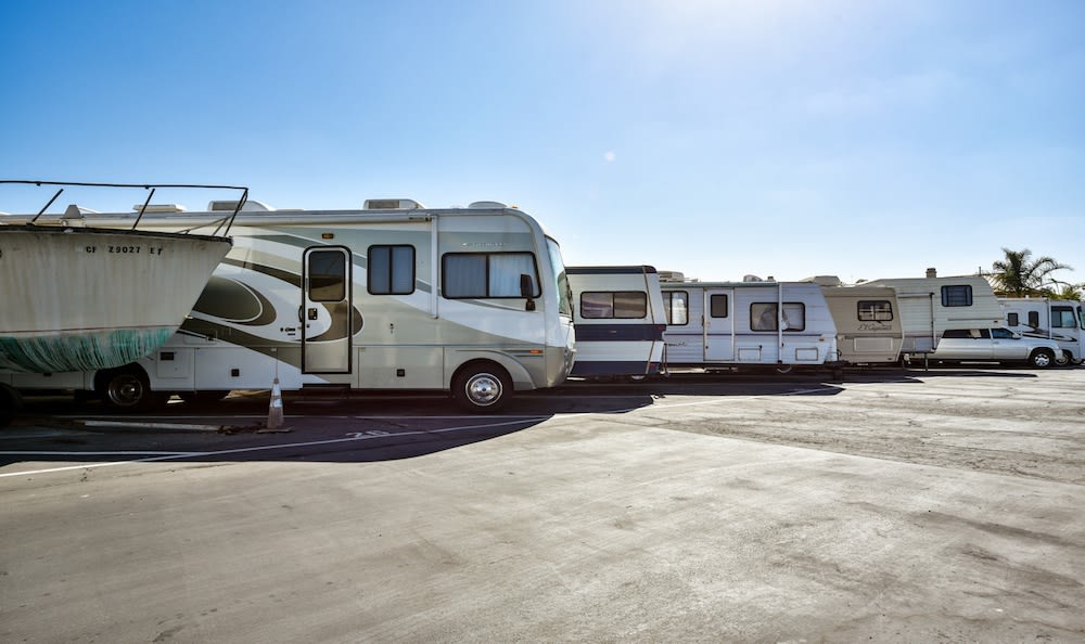 RV Storage at Channel Islands Self Storage in Port Hueneme, CA