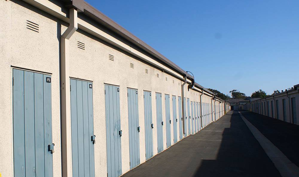 self storage in port hueneme california units