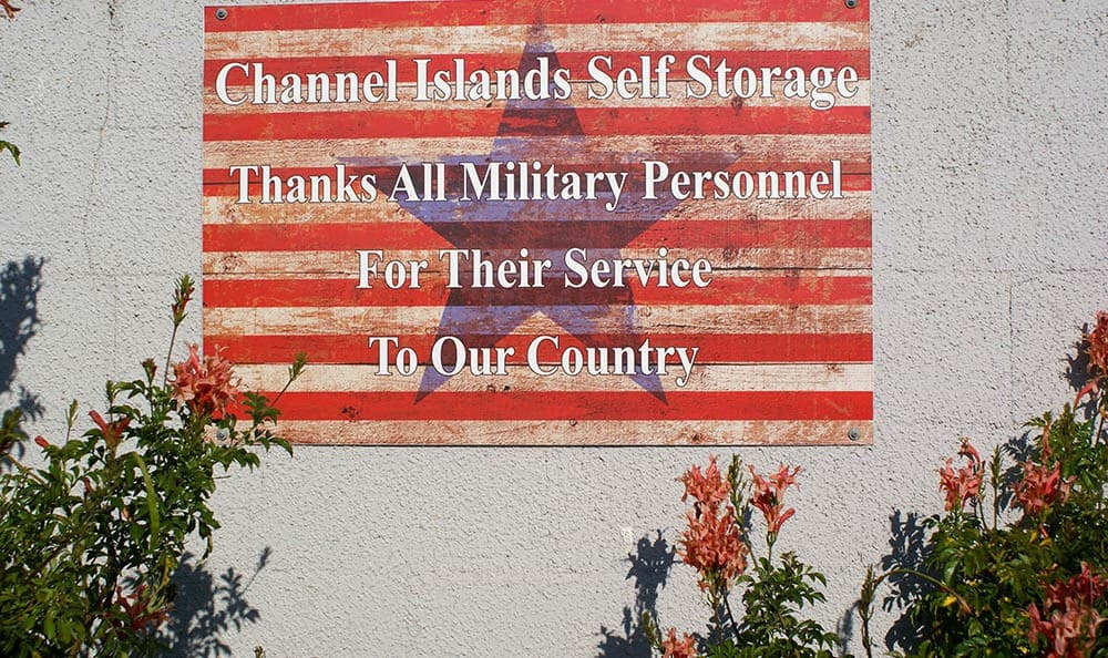 self storage in port hueneme california with military discounts