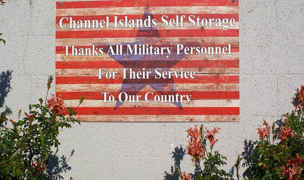 self storage in port hueneme california with military discounts