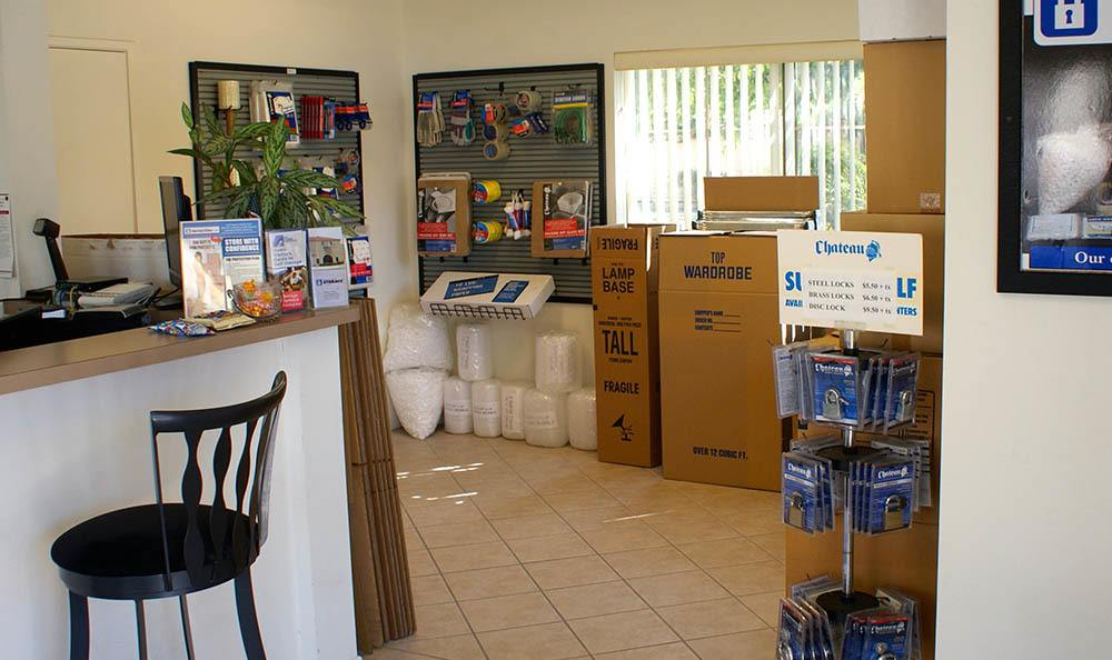 front office at self storage in oxnard california