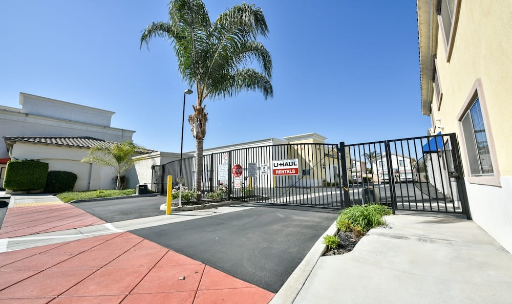 security features of our storage facility at Carriage Square in Oxnard