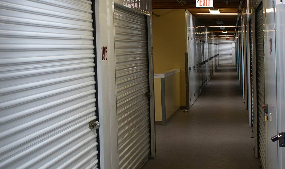 self storage in oxnard california hallway
