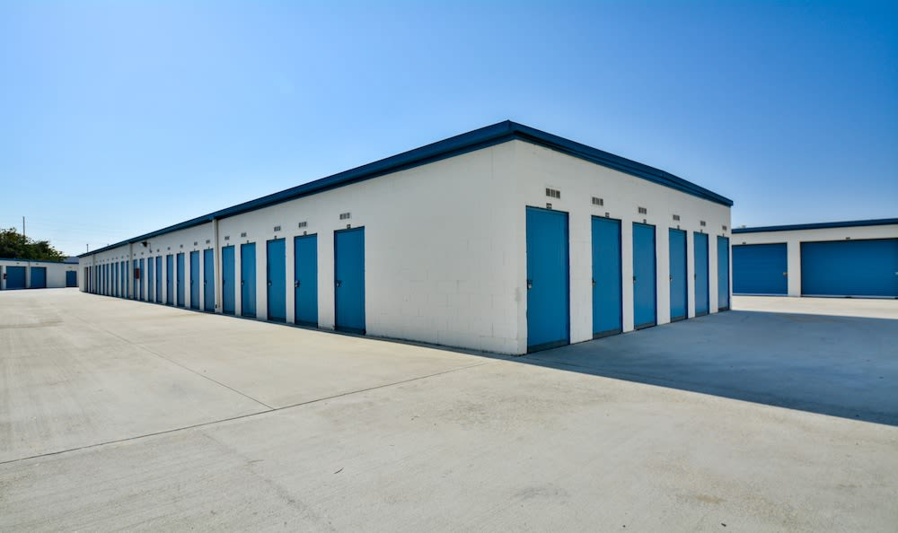 Small storage units at our storage facility in Gardena