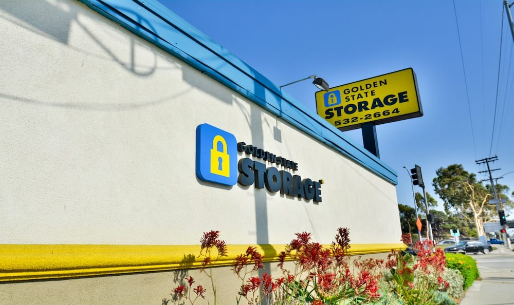 Landscaping and signage at our storage facility in Gardena