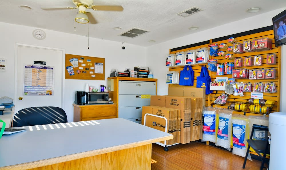 Moving supplies offered at our storage facility in Gardena