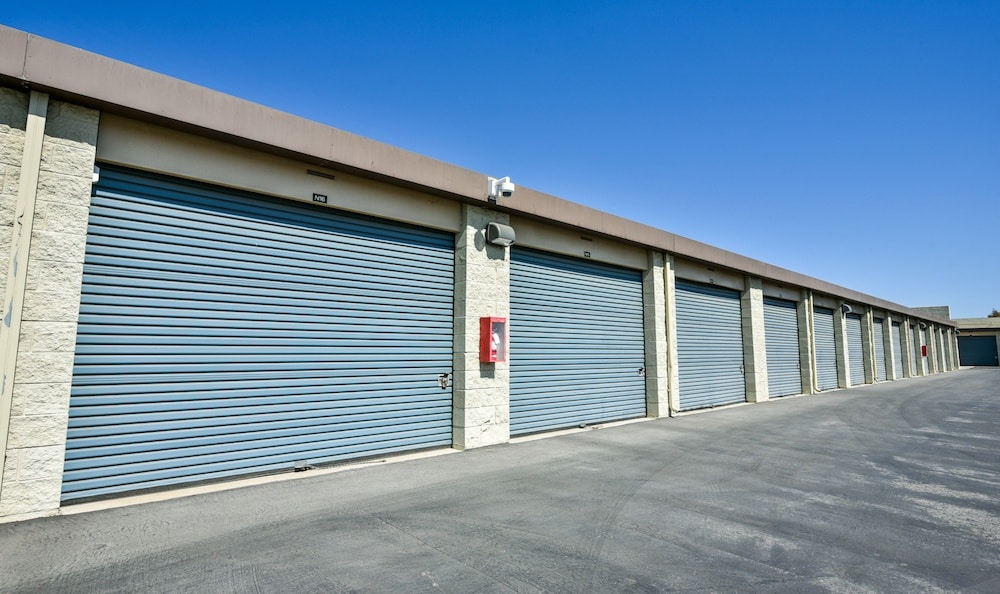 drive up units at our storage facility on Auto Center Drive in Oxnard