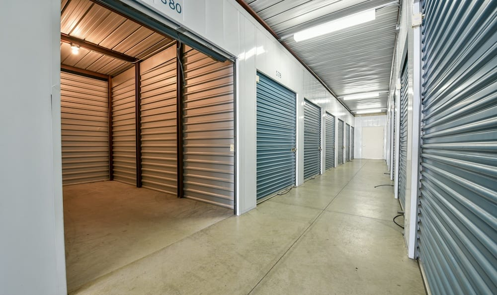 Large indoor unit at our storage facility on Oak Avenue in Santa Clarita