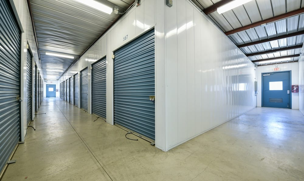 Indoor units at our storage facility on Oak Avenue in Santa Clarita