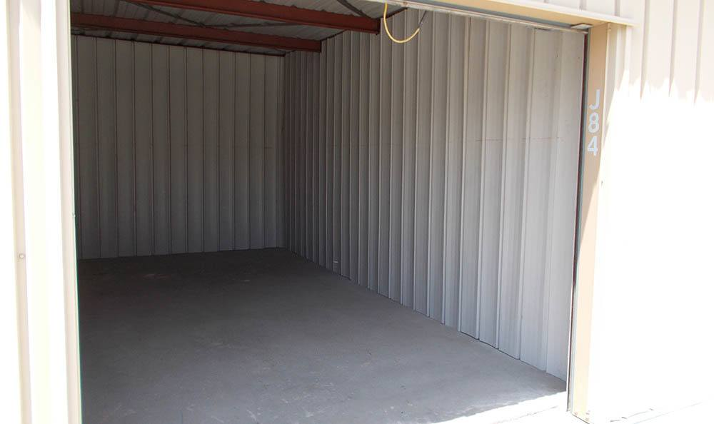self storage in santa clarita california inside of unit