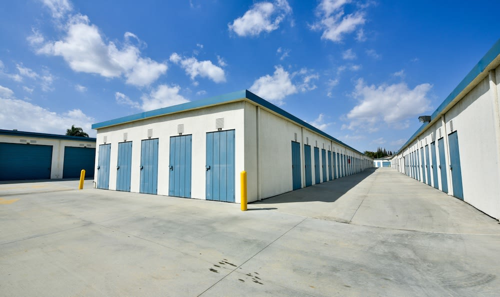 Various size storage units at our storage facility on Roscoe Boulevard in North Hills