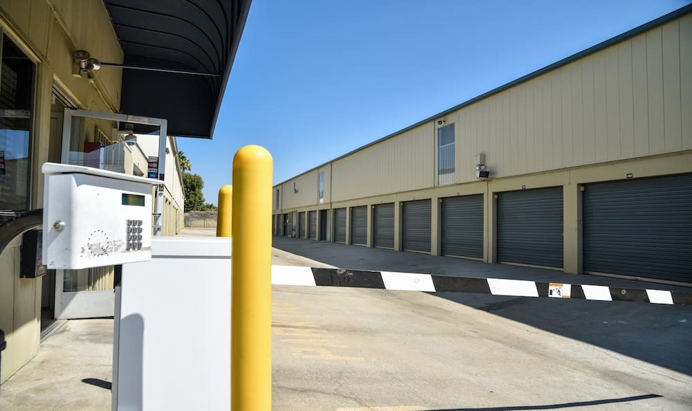 Security features of our storage facility on Sepulveda Boulevard in North Hills