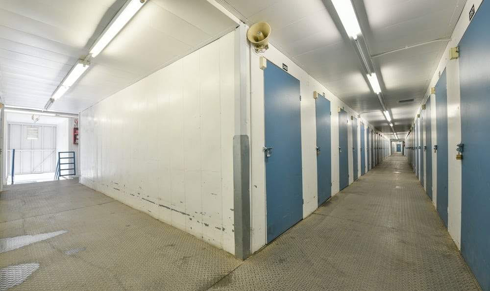 Small storage units at our storage facility on Sepulveda Boulevard in North Hills