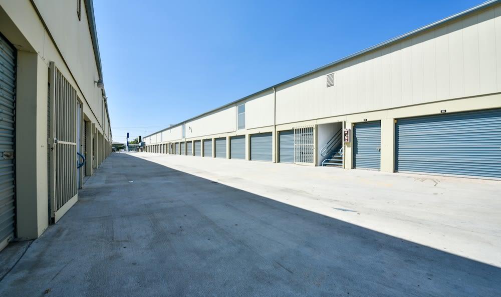 Drive up units at our storage facility on Sepulveda Boulevard in North Hills