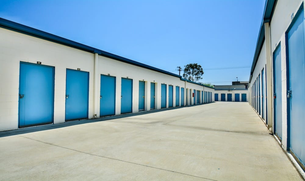 Drive up units at our storage facility in Santa Fe Springs